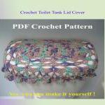 Crochet Pattern - Toilet Seat Cover..